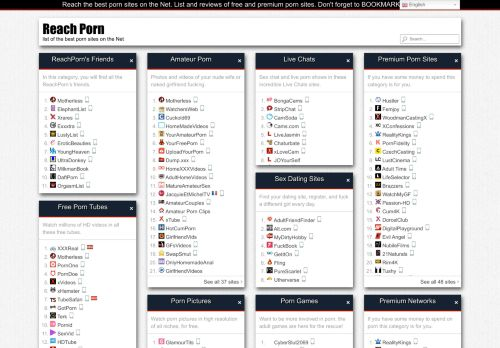 Reach Porn » List Of The Best Porn Sites On The Net of 2021
