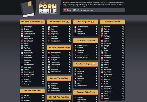 Hot Porn Bible - The best porn sites in the world!