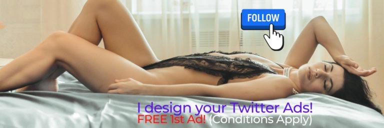Twitter Banner Ads - Graphic Design